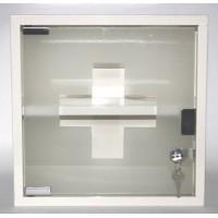 Dulapuri metalice sanitare cu usa din sticla