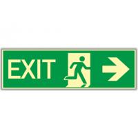 etichete de protectie exit