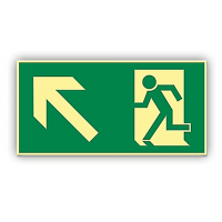 etichete pentru rutele de evacuare