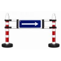 bariere cu semne pentru trafic