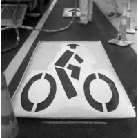 sablon pentru bicicleta