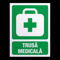 indicatoare pentru trusa medicala