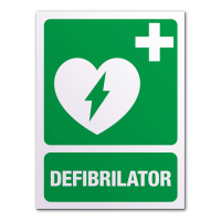 indicatoare pentru defibrilator