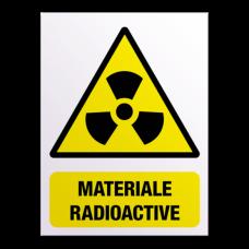 indicatoare pentru material radioactiv