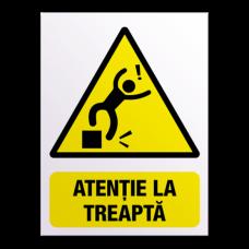 indicatoare atentie la treapta