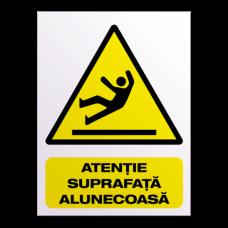 indicatoare pentru atentionare si avertizare alunecare
