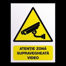 indicatoare pentru avertizare filmare video