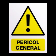 indicatoare pentru pericole generale