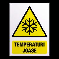indicatoare pentru temperaturi joase