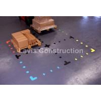 marcaje adezive pentru podele