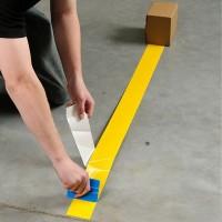 banda adeziva pentru marcare galben