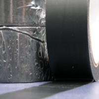 Banda adeziva pentru marcare neagra