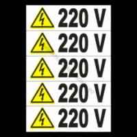 Etichete pentru prize 220 v