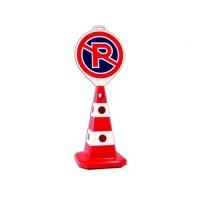 Conuri cu semne pentru parcari