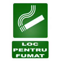 indicatoare pentru loc de fumat