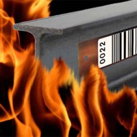 Etichete rezistente la foc