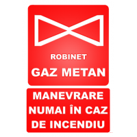 indicatoare pentru robineti gaz metan