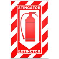 indicatoare combinate pentru stingatoare
