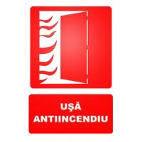 indicatoare pentru semnalizare usa antiincendiu