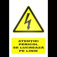 indicatoare pentru linie de tensiune