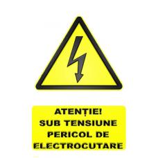 indicatoare de atentionare si avertizare