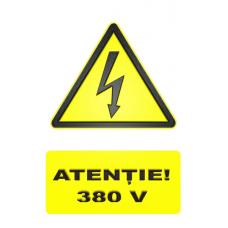 indicatoare de avertizare 380v