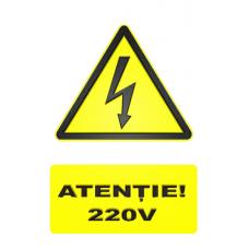 indicatoare de avertizare 220v