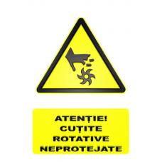 indicatoare de securitate si avertizare