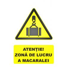 indicatoare de avertizare obiecte suspendate