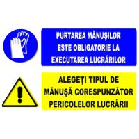 indicatoare pentru executarea lucrarilor de intretinere