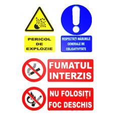 indicatoare pentru respectarea normelor de protectia muncii