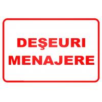 indicatoare pentru deseuri menajere