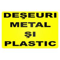 indicatoare pentru deseuri metal si plastic