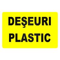indicatoare pentru deseuri plastic