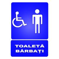 indicatoare pentru toalete persoane cu handicap