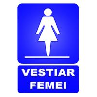 indicatoare pentru vestiar femei