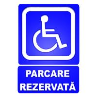 indicatoare pentru parcari rezervate