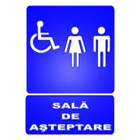 indicatoare pentru sala de asteptare