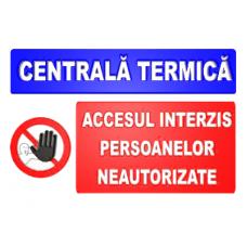 indicatoare pentru centrala termica