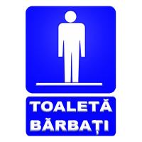 indicatoare pentru toaleta barbati