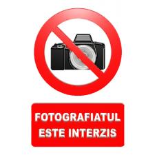 indicatoare pentru interzicerea fotografiatului