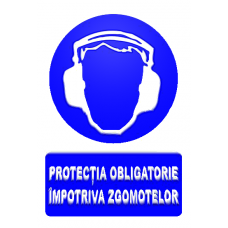 indicatoare pentru protectia zgomotelor