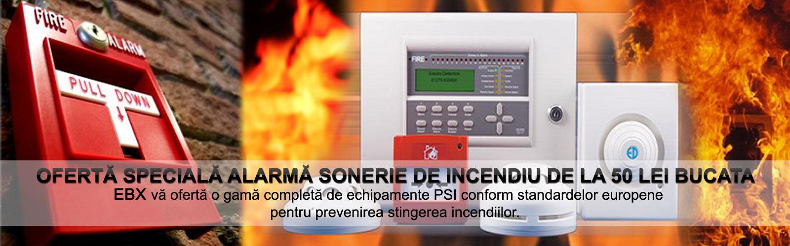 Ofertă specială alarmă sonerie de incendiu  50 lei bucata
